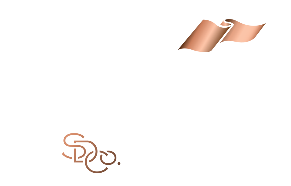 Salcombe Gin white copper logo.png