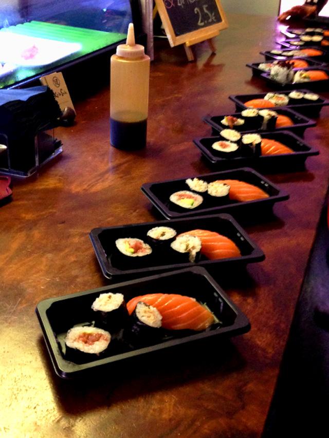¡Sushi love!