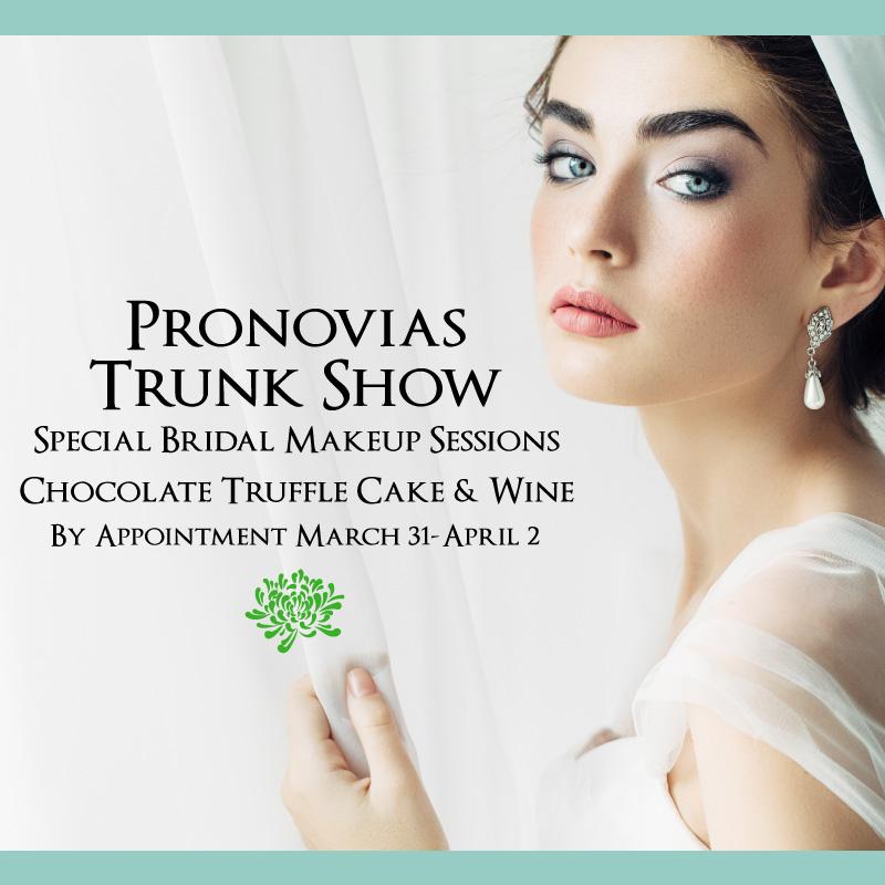 Pronovias Trunk Show