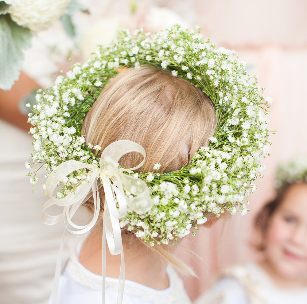 Some flowers in your hair flower crowns genys flowers and bridal flower crown izmirmasajfo