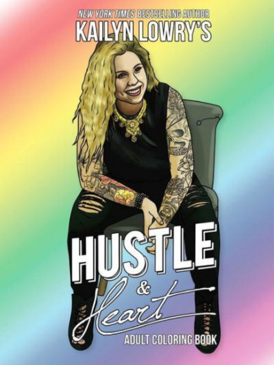 PURCHASE Hustle & Heart Adult Coloring Book Here