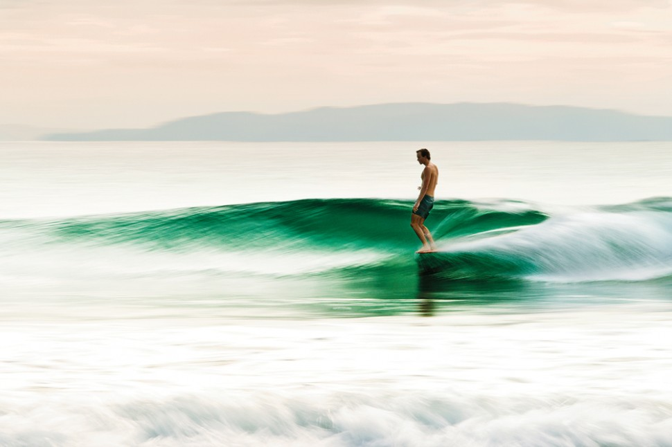 Harrison Roach, at home on the nose.  Photo: Dodds