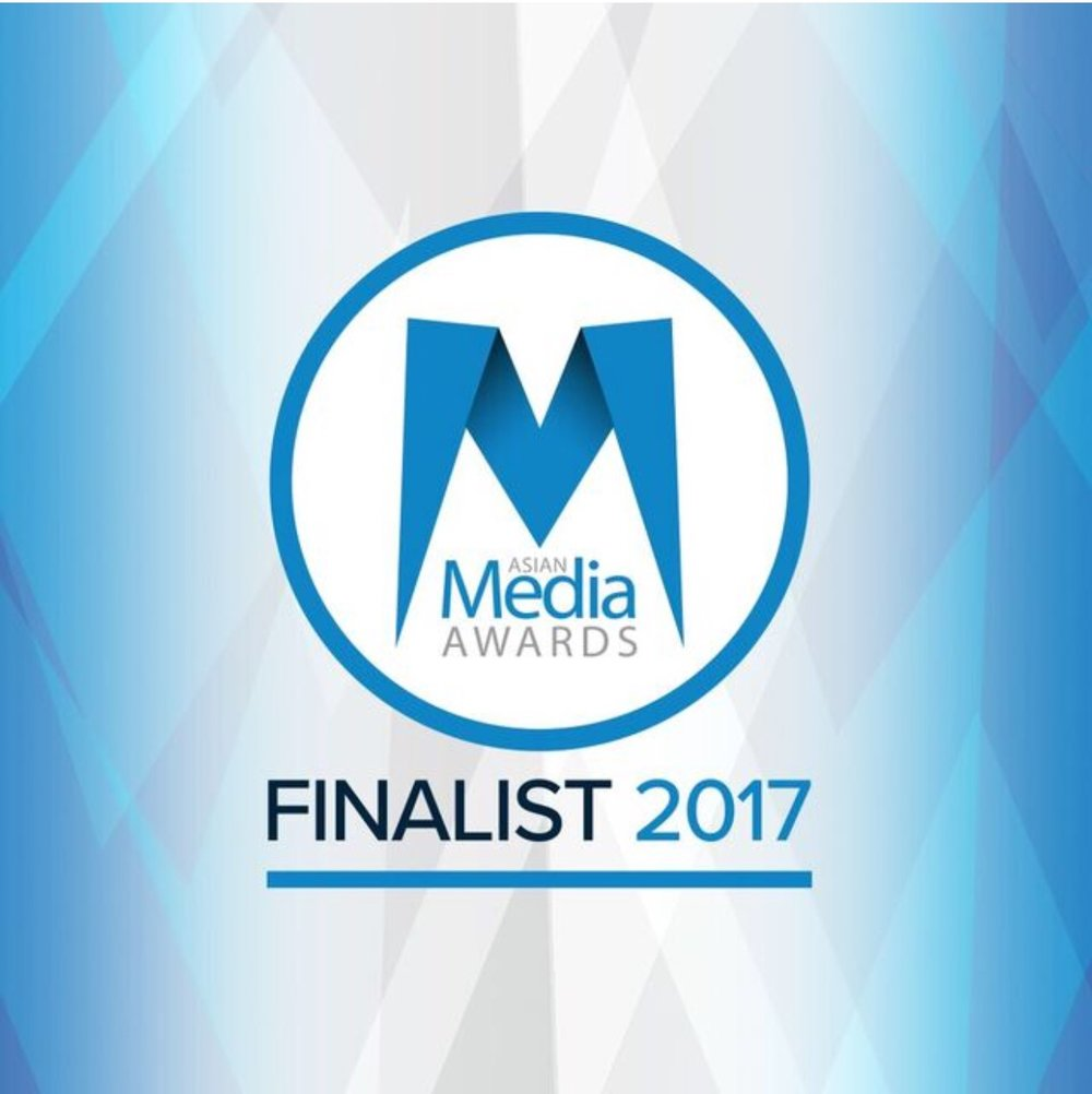 Finalist - Journalist of the Year, Oct 2017