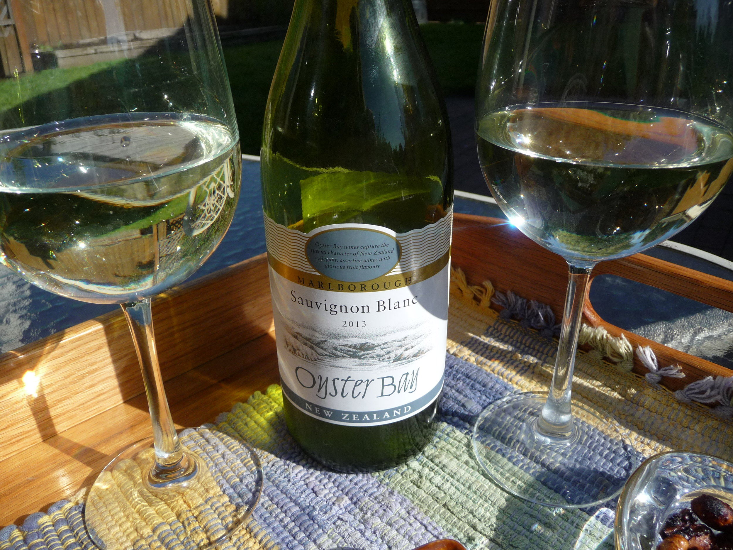 This 2012 Oyster Bay Sauvignon Blanc has the right balance of crisp minerality to accompany many picnic salads as well as scallops, shrimp and prawns.