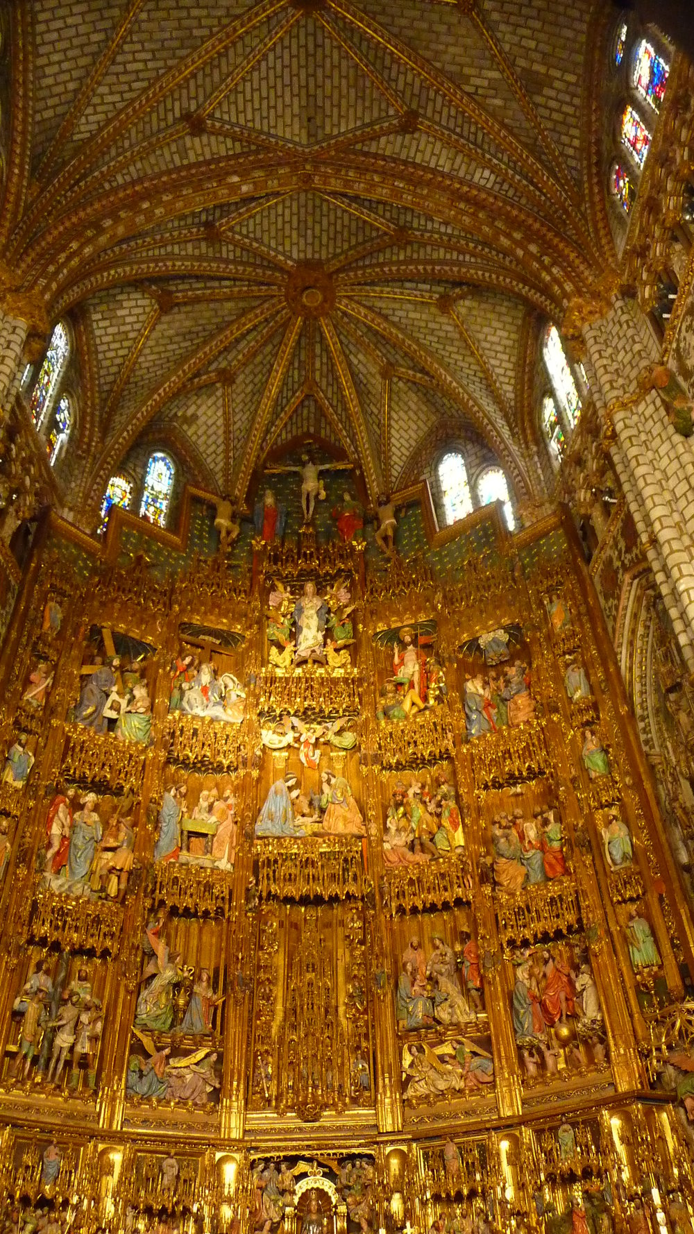 High Altar of Toledo's cathedral