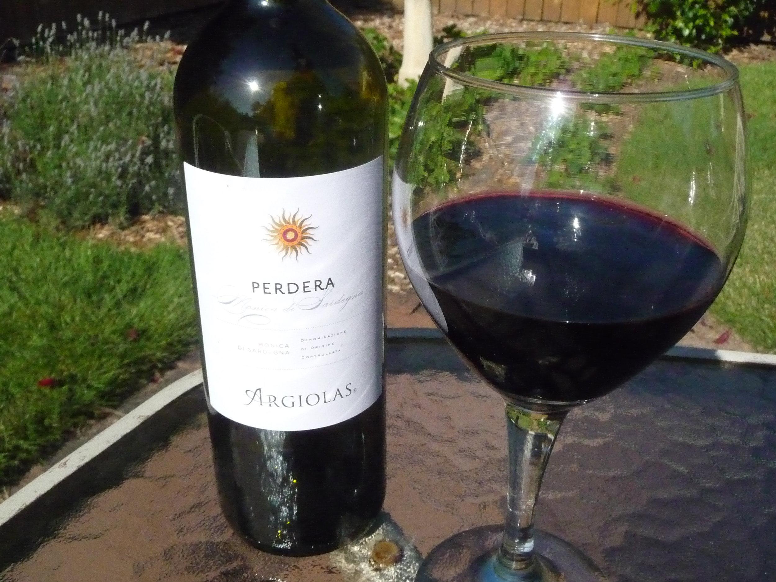2011 Argiolas-grapes grown on the Italian island of Sardinia