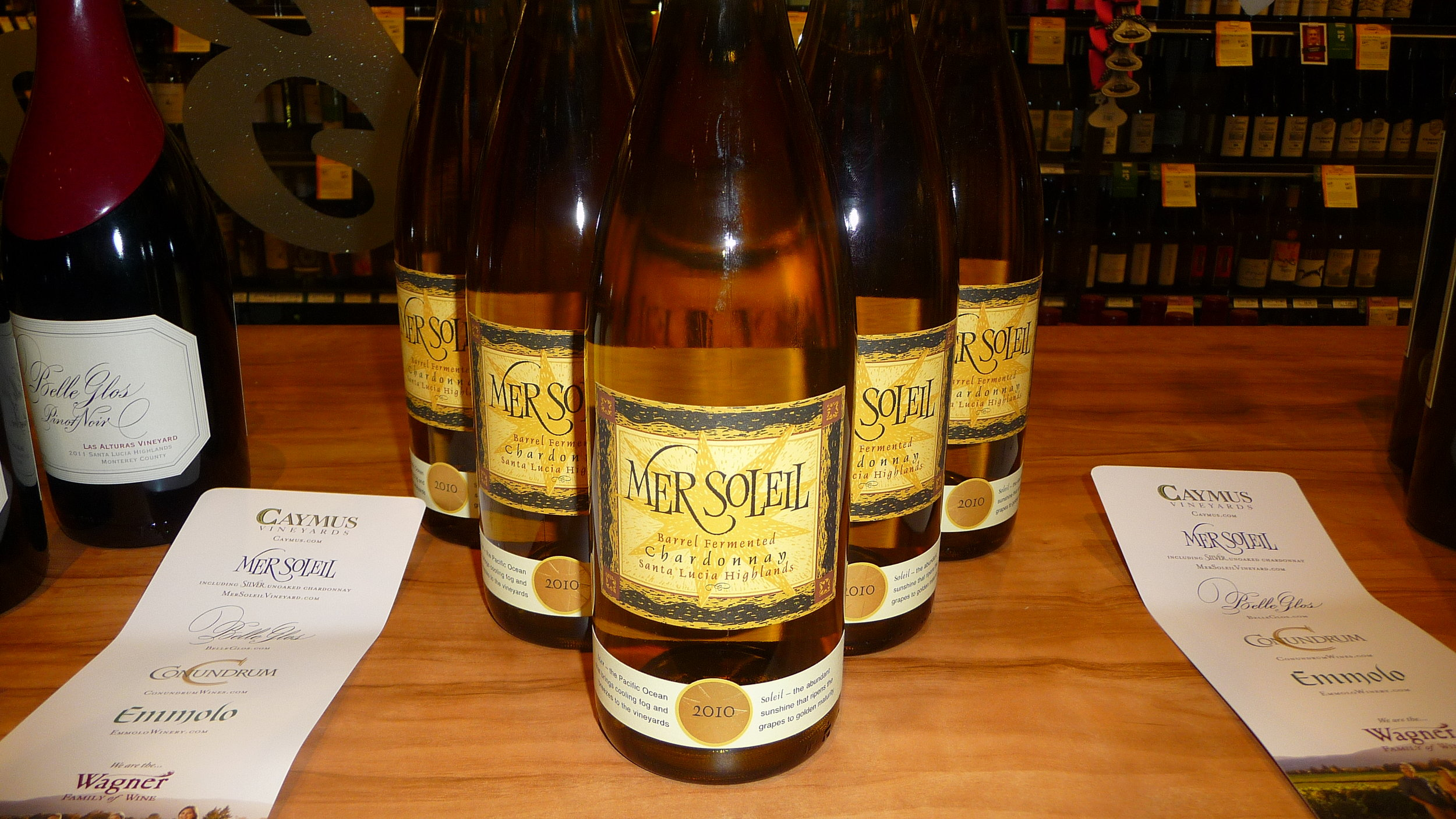 The delight of my day-Charlie Wagn'ers 2012 Mer Soleil Reserve Chardonnay