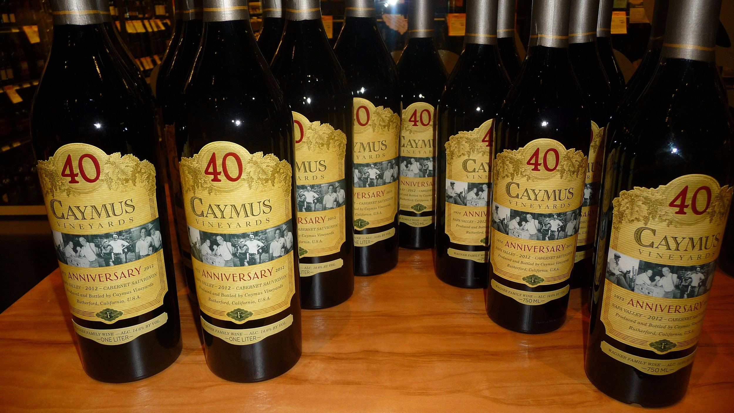 The 40th anniversary edition of the wine that started it all - 2012 Caymus Napa Valley Cabernet