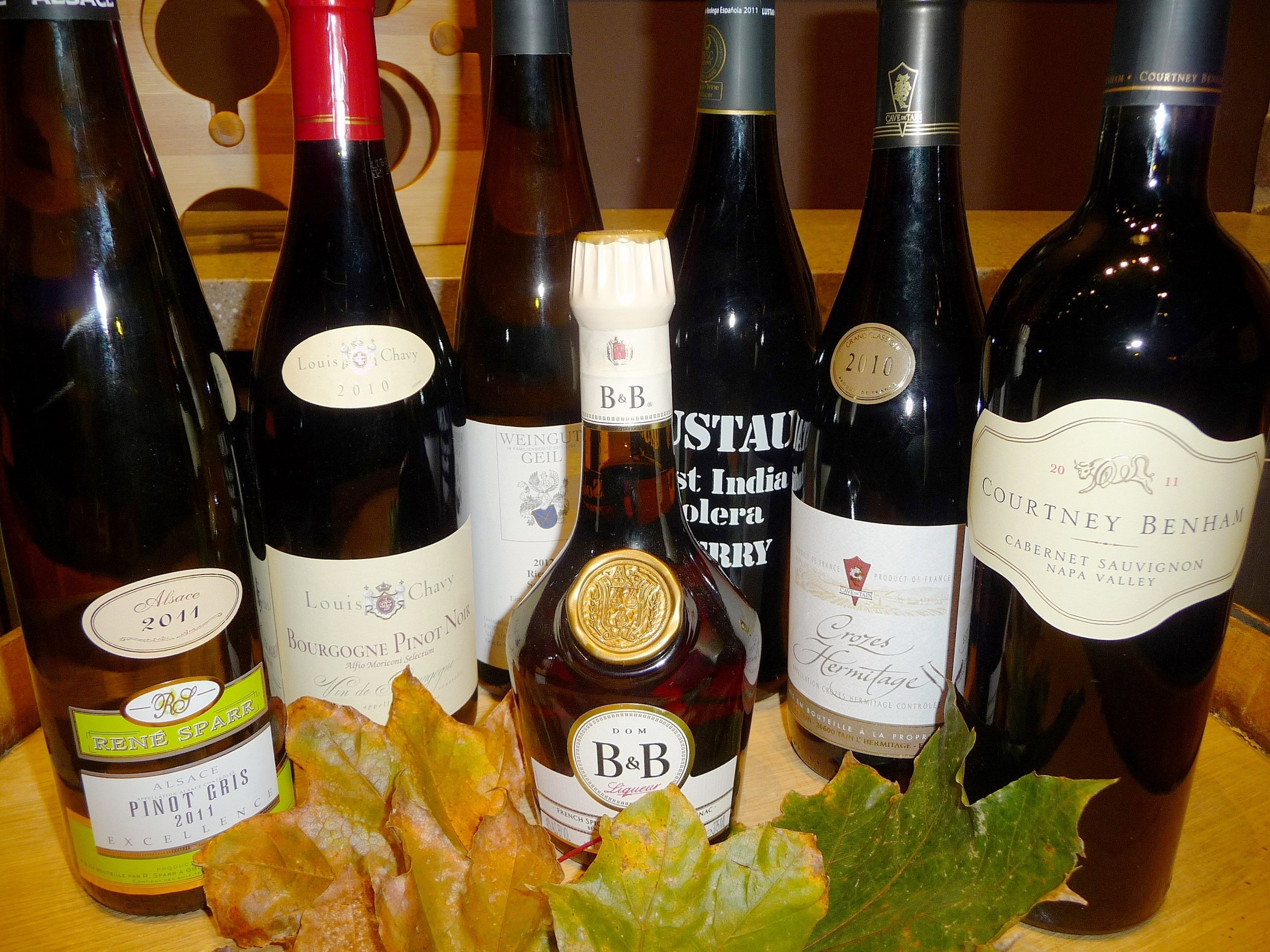 Old World wines complement the traditions of Thanksgiving with classic varietal styles