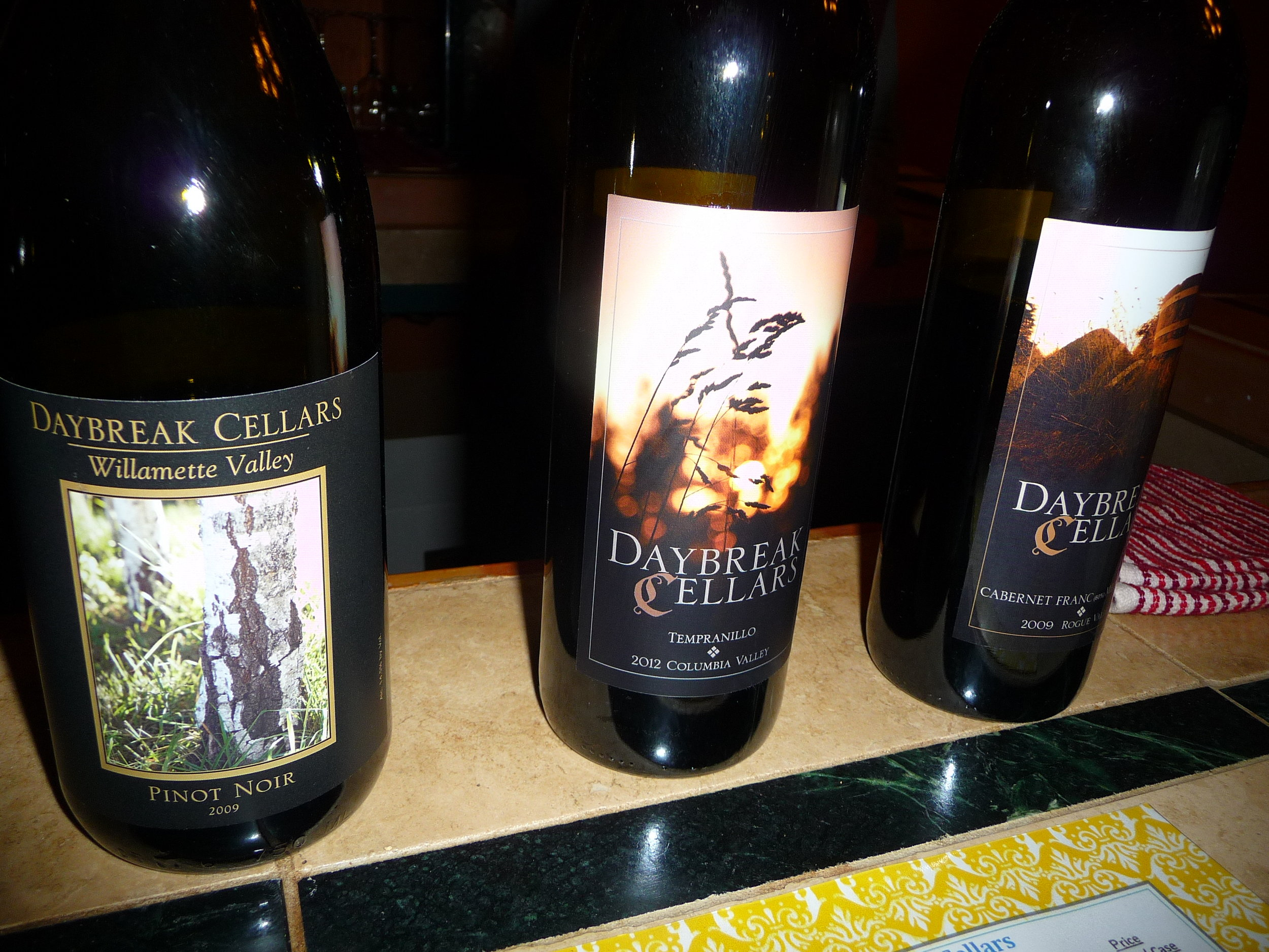 Rezabek Vineyards/Daybreak Cellars is currently a by-appointment-only winery in Battle Ground, WA