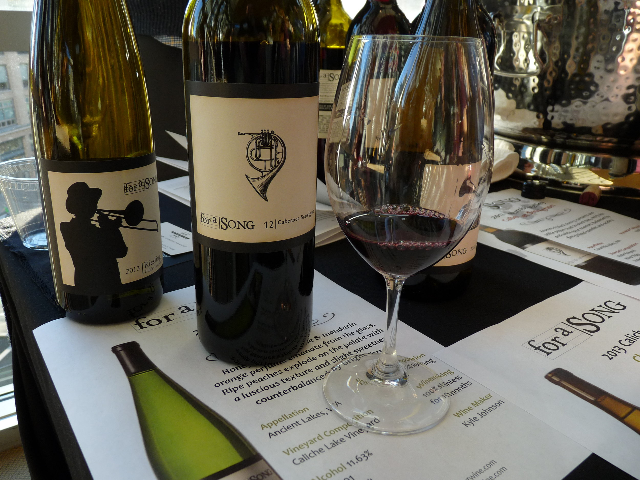 For A Song's great value wines are gaining in popularity at restaurants all over Clark County.