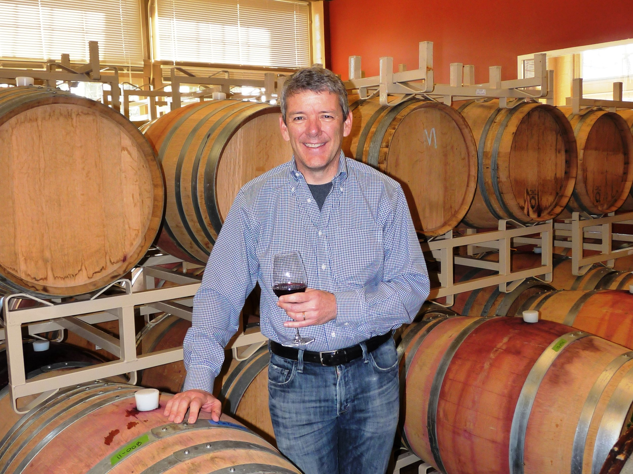 Winemaker, David Smith, blended his interest in chemistry, biology and wine to create a second career at Burnt Bridge Cellars in downtown Vancouver. Courtesy of Viki Eierdam.