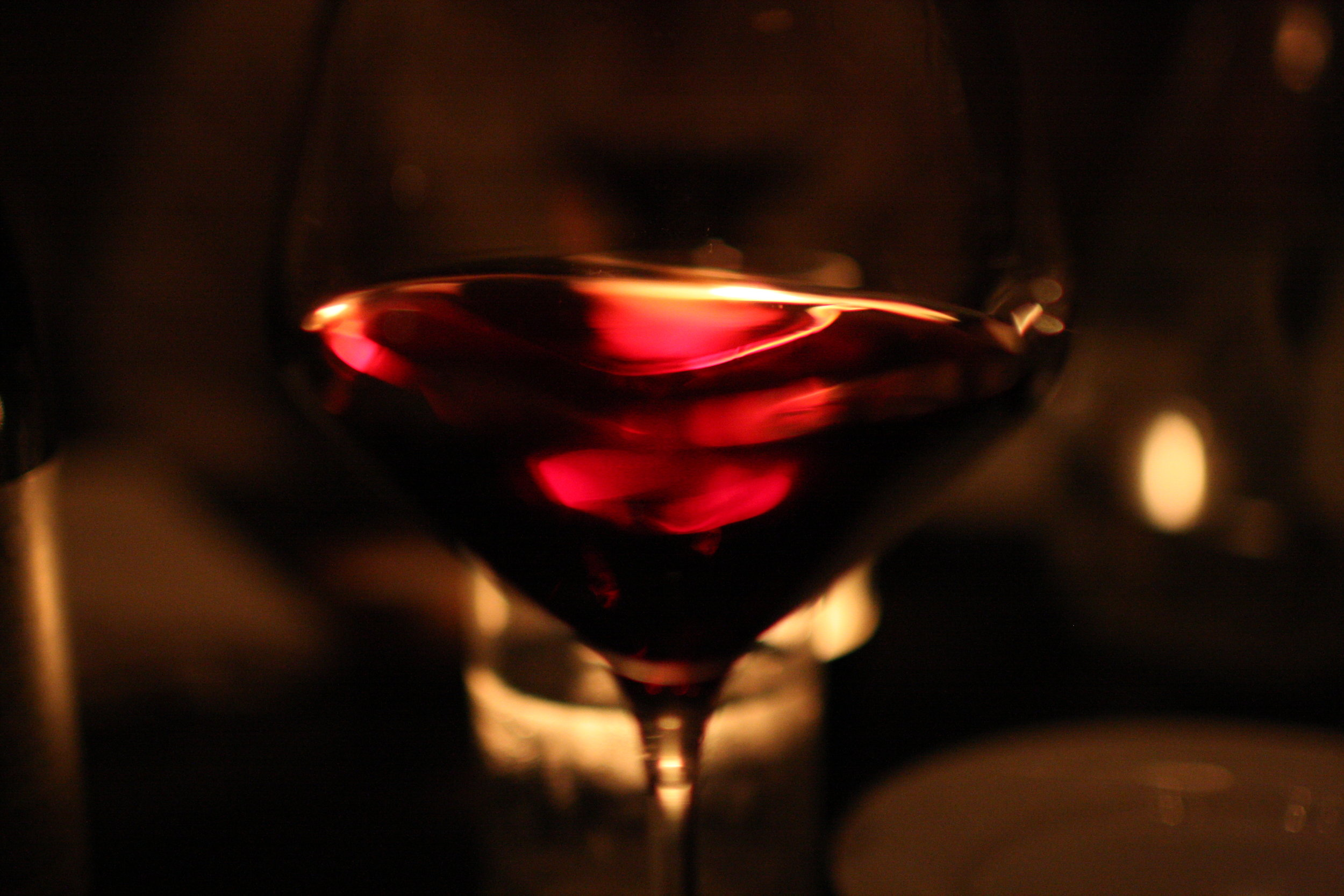 Swirling wine in a circular motion allows the nose, or bouquet, of the wine to open up and is one reason a wine glass should only be filled half way. Photo courtesy of Brian Solis/Flickr.