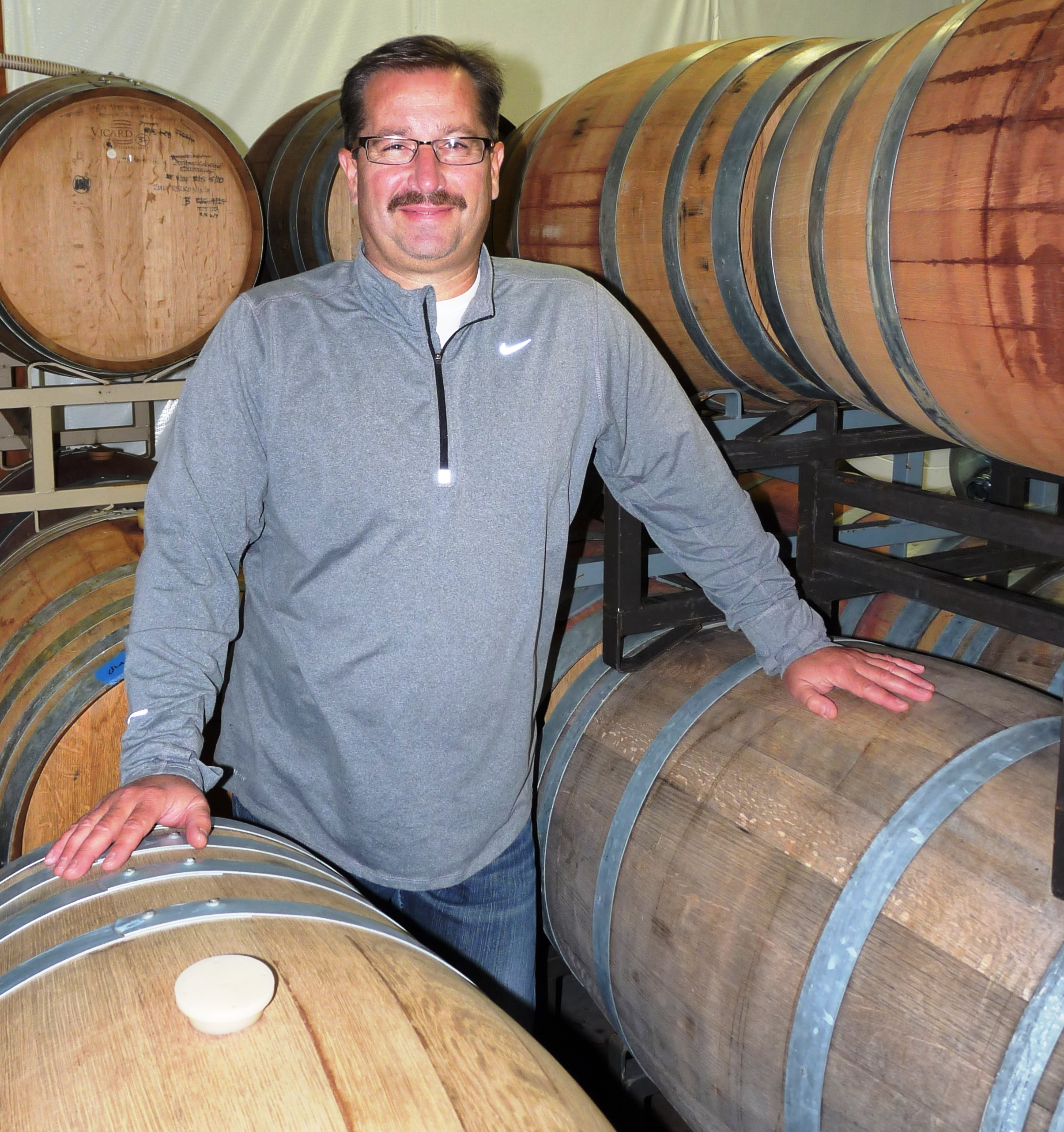 Greg Weber, winemaker at Confluence Vineyards & Winery in Ridgefield, crafts bold French varietals with a nod to traditional Italian and Spanish wines.