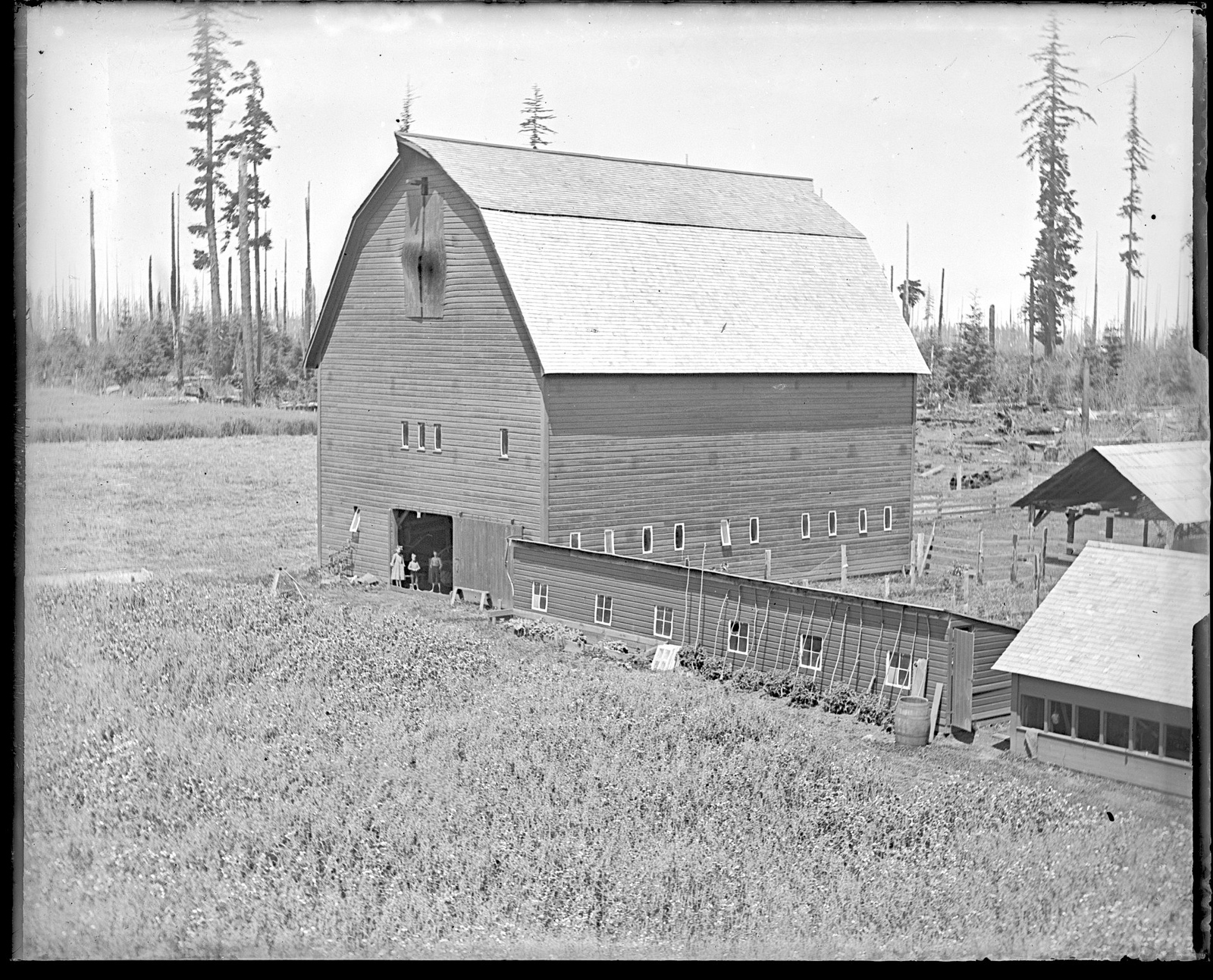 English Estate barn circa 1900's on the 112-year old English Family homestead in Vancouver. Photo courtesy of the English family.