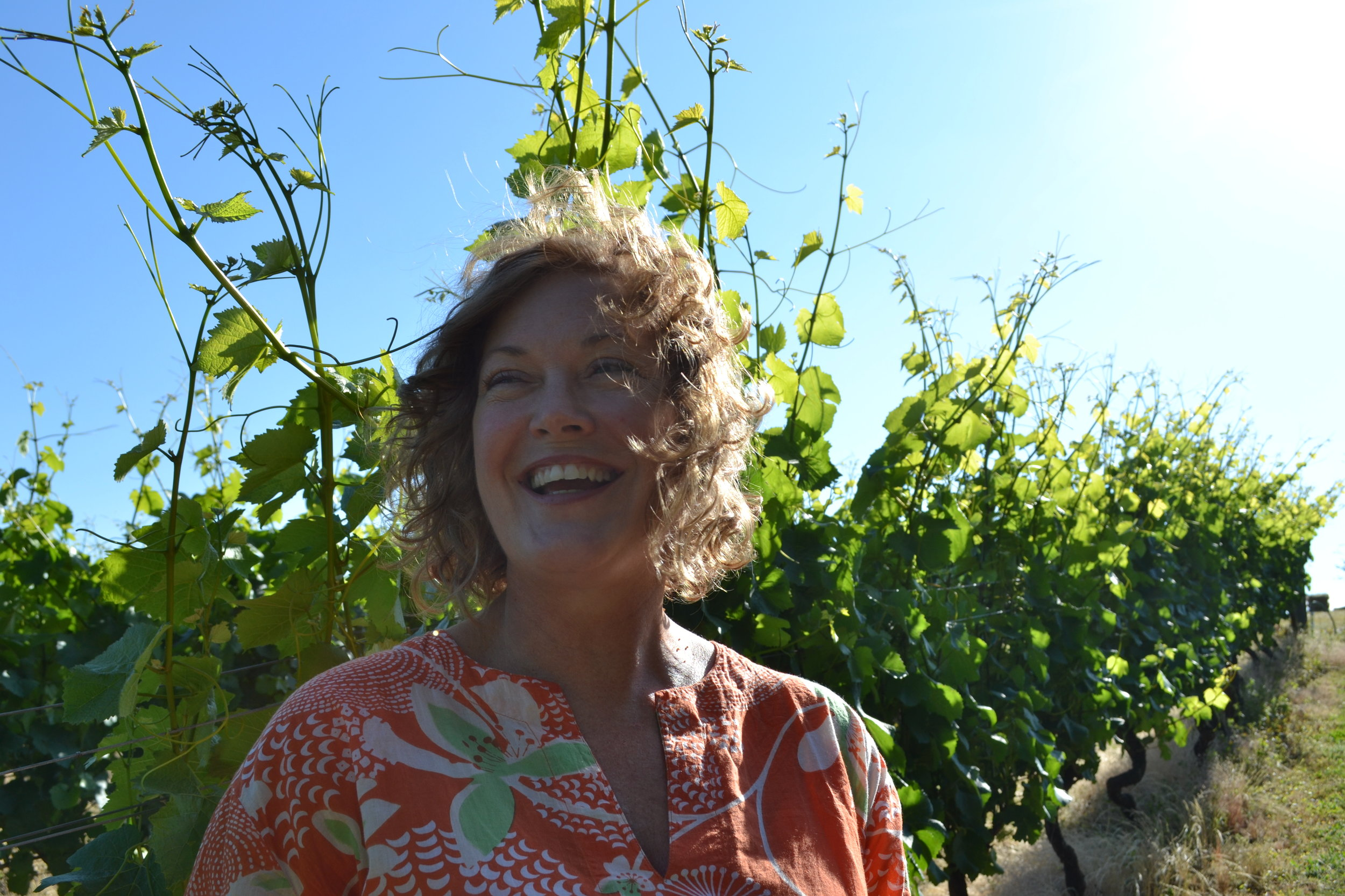 Janine Julian, owner of The Vine Travelers, offers personalized wine and brewery tours with the option of light adventure from Gorge hikes to clam digging. Laura Leadingham
