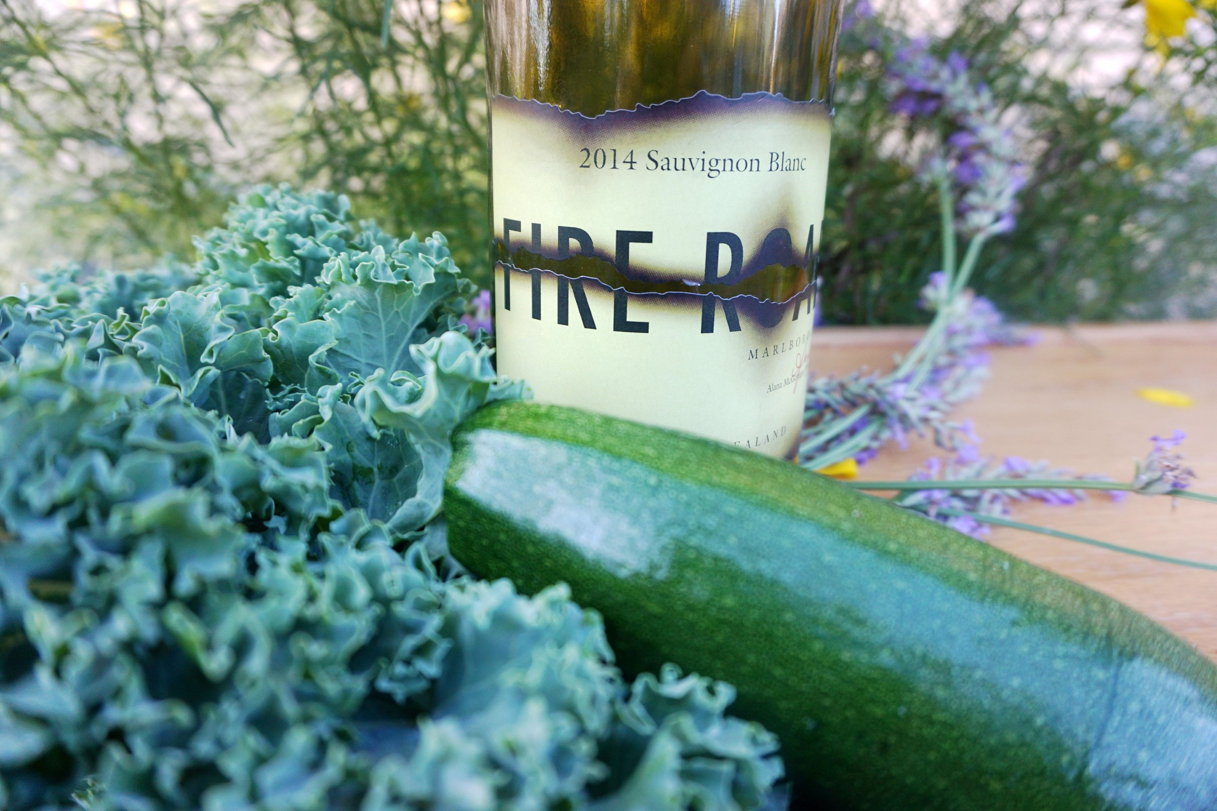 Sauvignon blanc, ranging from citrus to tropical notes, complements garden-fresh vegetables with its racy acidity, light grassy notes and medium to full body. Viki Eierdam