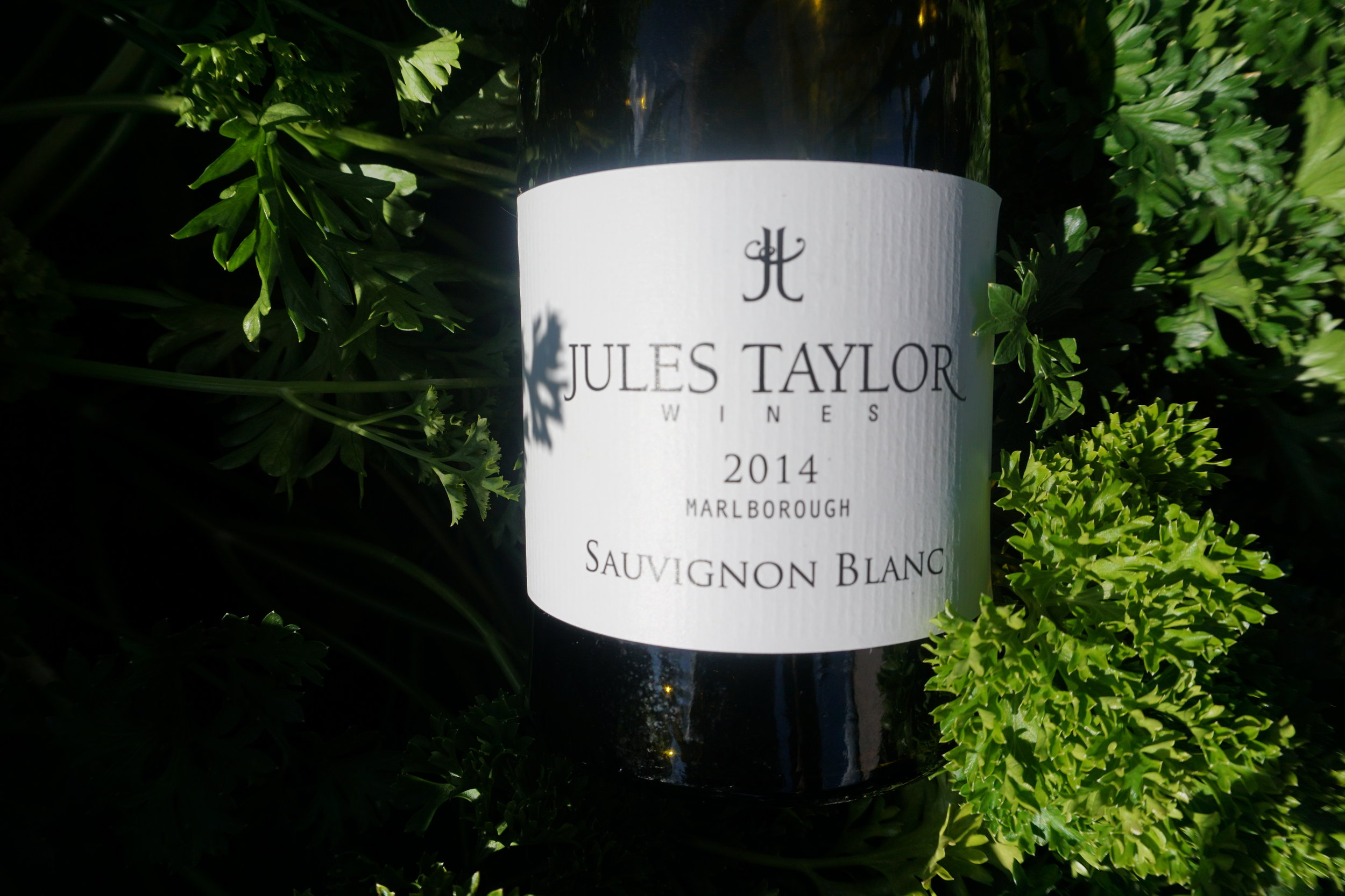 Jules Taylor Wines, Marlborough -  2014 Sauvignon Blanc - shows some ripe stone fruit on the finish. Viki Eierdam