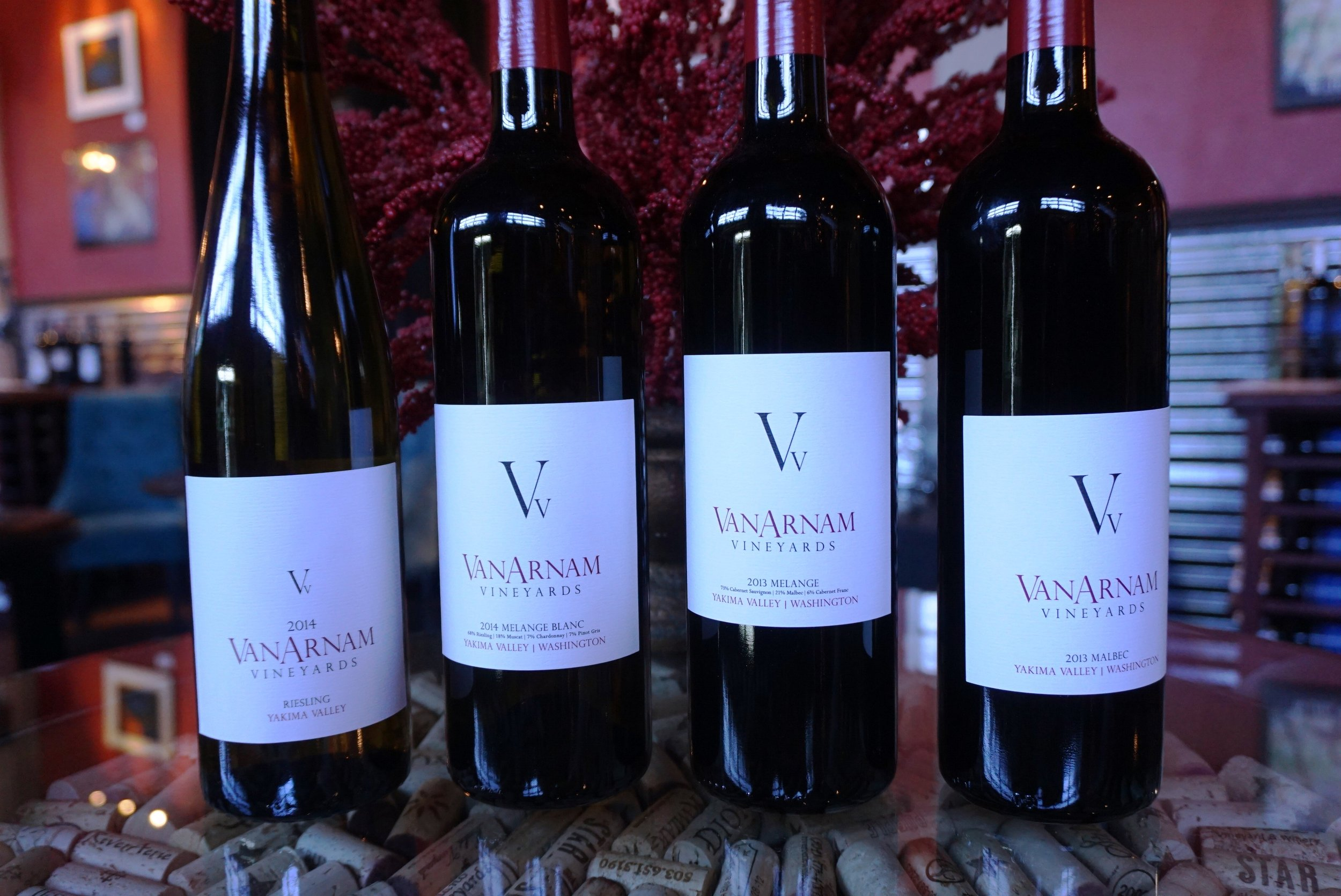 Still considered a young winery, VanArnam Vineyards recently received a 91 from Wine Spectator for their 2013 Melange. Viki Eierdam