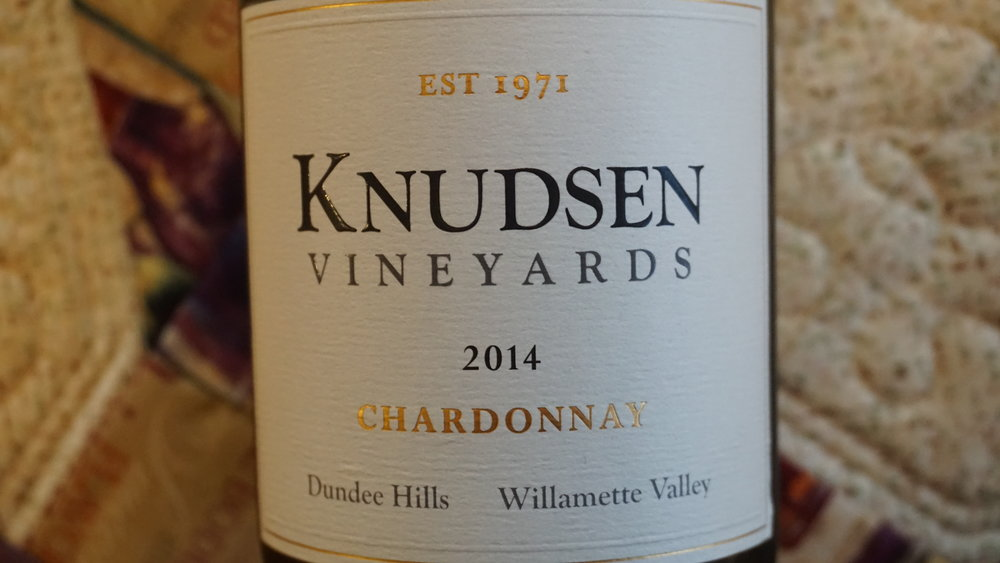 Marked acidity makes this is Knudsen Vineyards 2014 Chardonnay a very food-friendly wine. Viki Eierdam