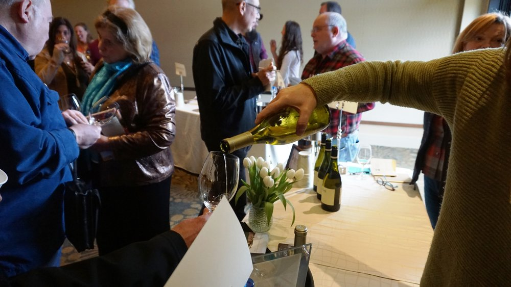 Held at the Allison Inn & Spa, the Oregon Chardonnay Celebration Grand Tasting was an opportunity for consumers to sample exquisite examples from nearly 50 Oregon wineries. Viki Eierdam