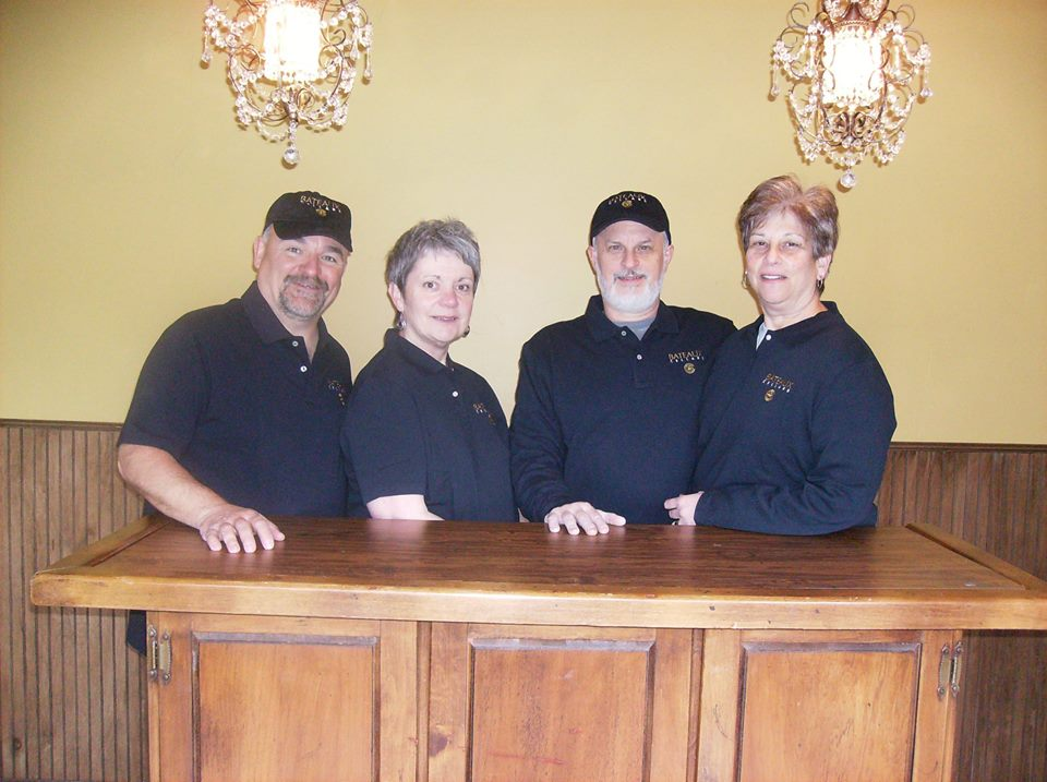 Rob Cummings, Kas Kennedy, Steve Padula and Cheryl Padula make up the owners of Bateaux Cellars, located in Toledo, Washington. Bateaux Cellars