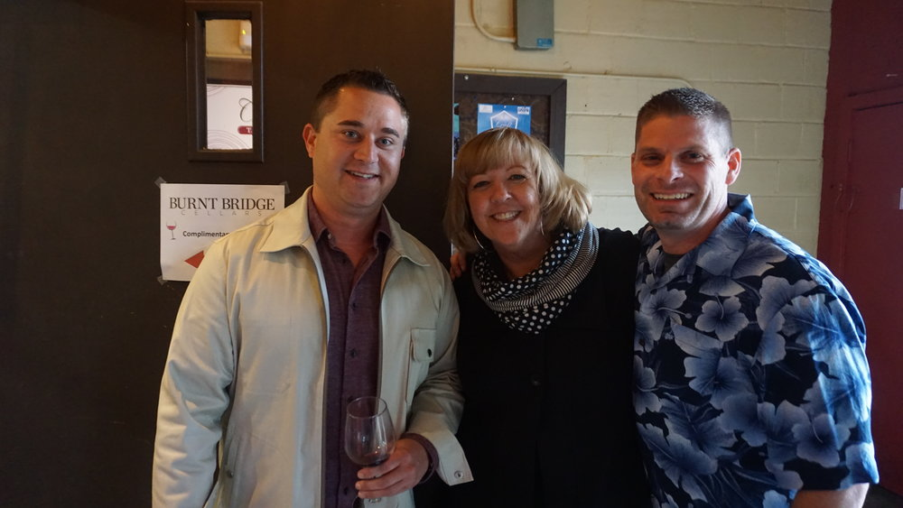 CCMS supporter, Ryan Tinney, president Linda Reid and emcee James O'Neil had a great time at last weeks' Wine Tasting Raffle and Auction event. Viki Eierdam