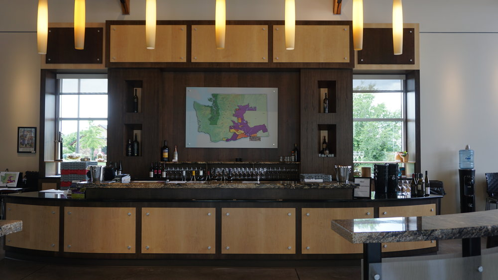 Tasting bar at Walter Clore Wine and Culinary Center. Viki Eierdam