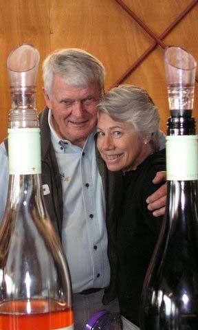 Vidon Vineyard owners, Don and Vicki Hagge. Photo provided
