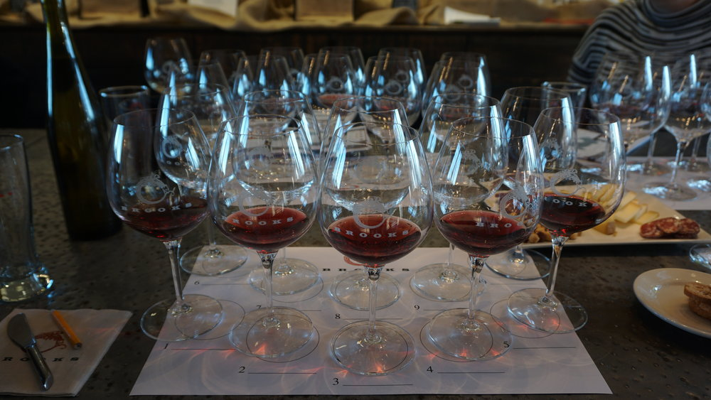 Brooks' expansive single vineyard pinot noir and riesling program makes for an educational media tasting as well as a great excuse to linger in their cozy tasting room. Viki Eierdam