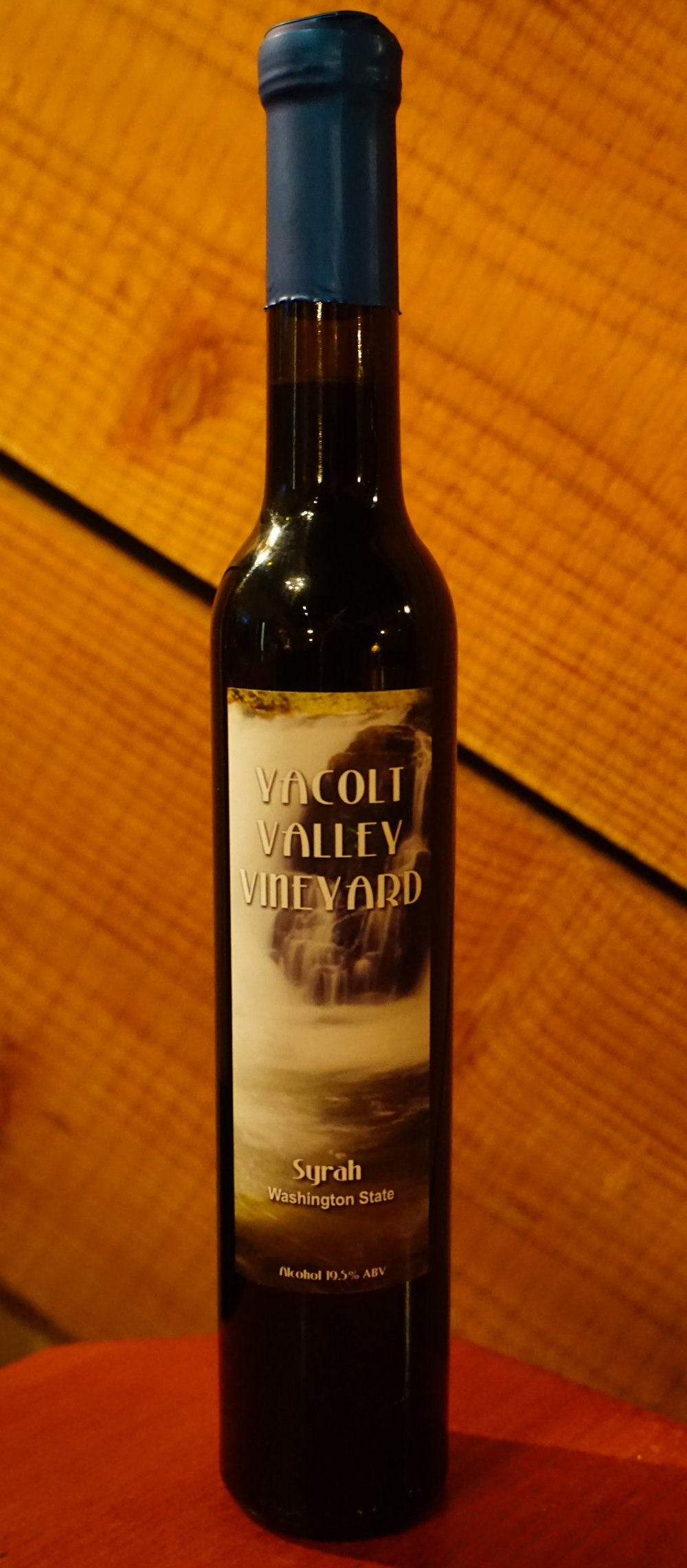 Moulton Falls Winery collaborated with Yacolt Valley Vineyard to create this port-style dessert wine. Viki Eierdam