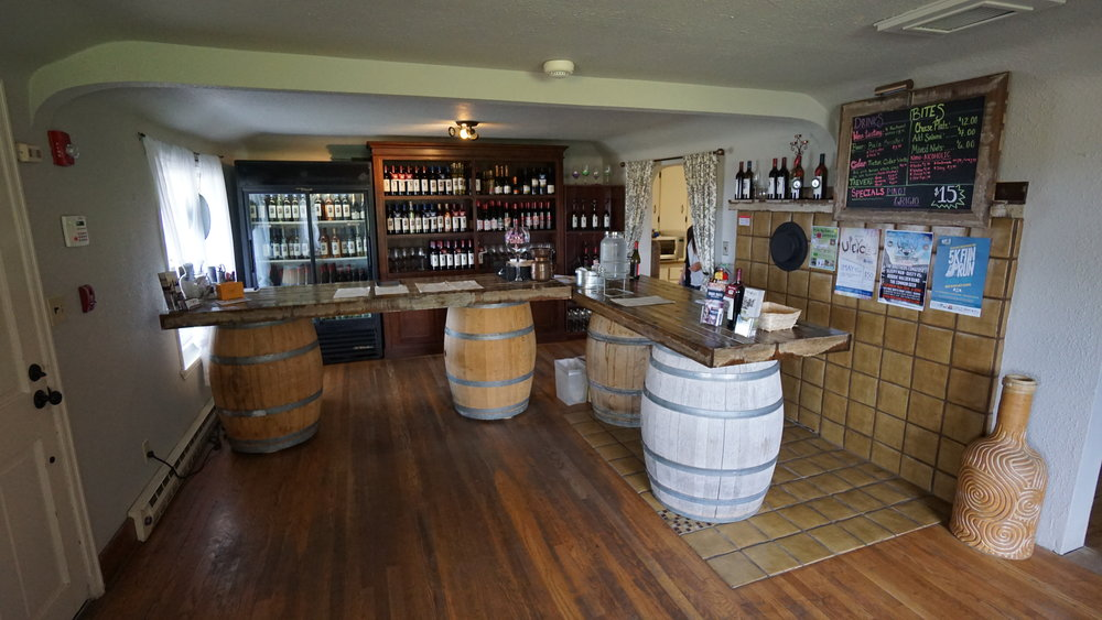 Naches Heights Vineyard and Wilridge Winery share a tasting room on the 80-acre biodynamic vineyard. Dan Eierdam