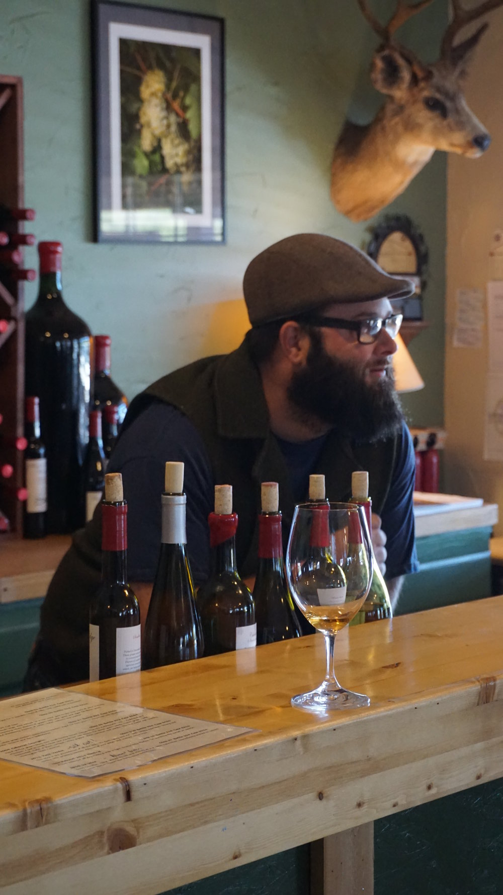 Bill Mechem fell in love with the wine world when he traveled to the Czech Republican and has been crafting his European-influenced wines since 2006. Dan Eierdam