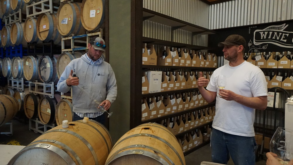 Brothers and fourth-generation farmers, Pat and Matt are the faces behind Two Mountain Winery. Dan Eierdam