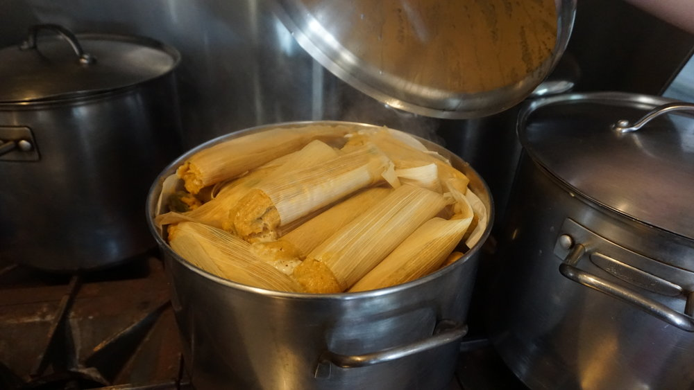 Visiting Seattleites drive home with coolers full of pork and chicken tamales from  Los Hernandez Tamales i n Union Gap. Viki Eierdam
