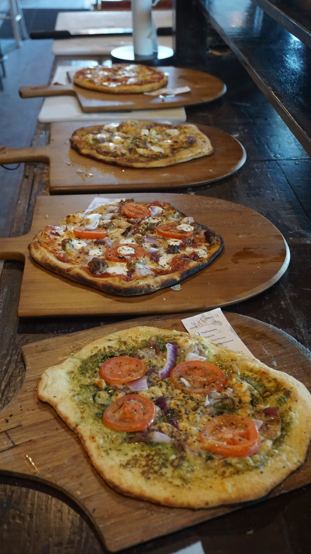 Hop Town Wood Fired Pizza went brick and mortar back in April and the entire Yakima Valley rejoiced. Dan Eierdam