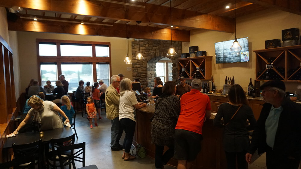 Word is out that Windy Hills WInery is open for business.