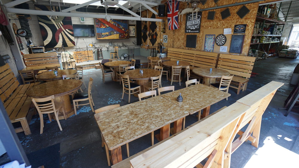 Expanded outdoor seating and live, local music on the weekends add to the community vibe of The Brew Station.