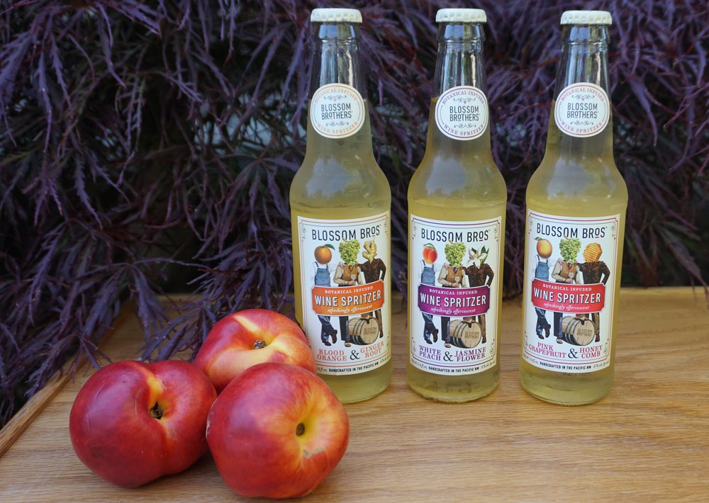 Blossom Bros. introduces new line of botanical-infused wine spritzers. Viki Eierdam