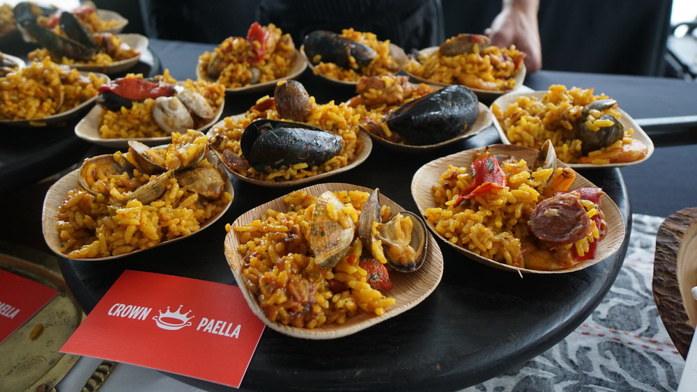 Crown Paella brought their magic to Corks + Forks at Castaway earlier this month. Dan Eierdam