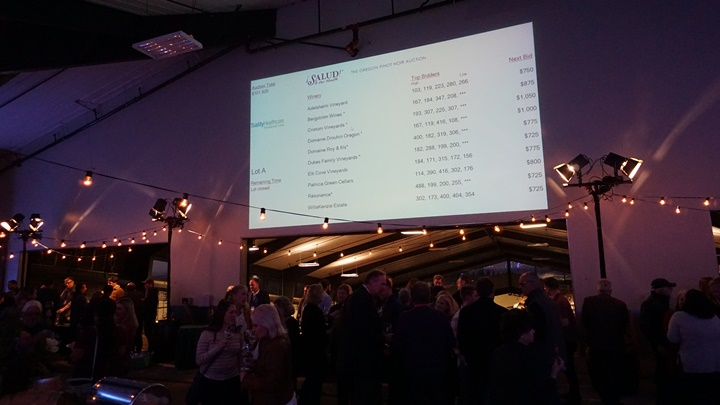 Since its founding, ¡Salud! has raised over $14 million for vineyard workers through events like the Big Board Auction, held in November. Viki Eierdam