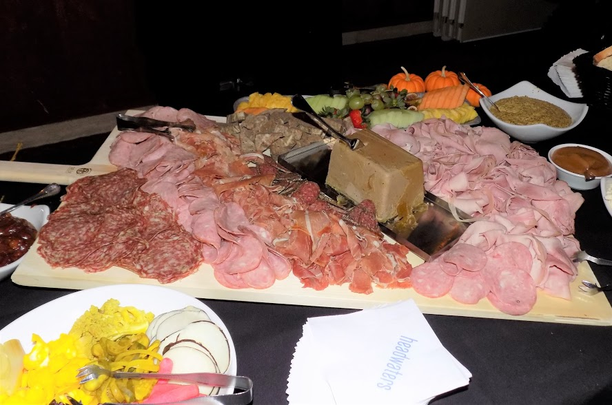 The Alliance pulls out all the stops to woo event goers including charcuterie. Photo provided