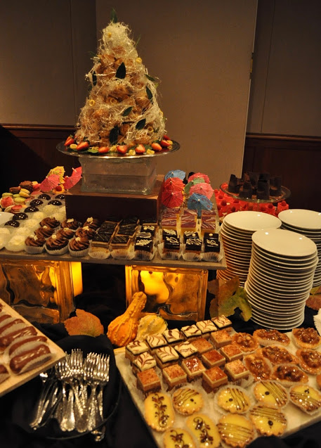 The Alliance pulls out all the stops to woo event goers including decadent desserts. Photo provided