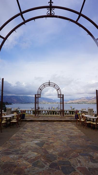 Lake Chelan view from Siren Song Vineyard. Viki Eierdam