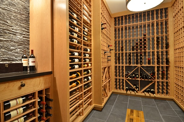Wine Cellar Depot offers wine cellar kit racks, which are an affordable yet elegant option. Courtesy of Wine Cellar Depot