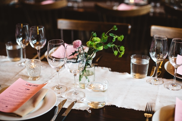 The table awaits at I Love Gamay May 20-24. Photo courtesy of Cheryl Juetten