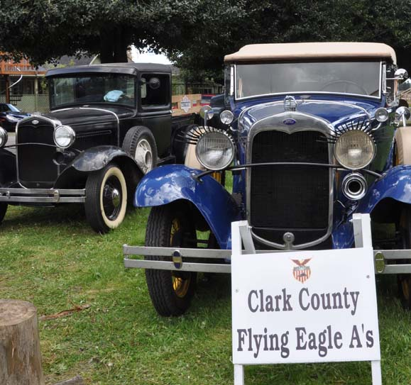 A Car Show, hosted by The Flying Eagle A's Ford Model A club, will run from 2:30-5 p.m., weather dependent. Courtesy photo