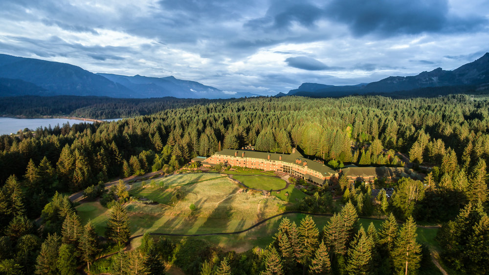 Skamania Lodge is celebrating its 25th Anniversary this year with an expanded wine list that features local wines of the Columbia Gorge AVA. Photo courtesy of Skamania Lodge.