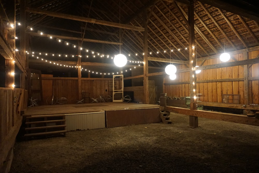 Interior of historic Heisen Barn. Courtesy of Viki Eierdam.