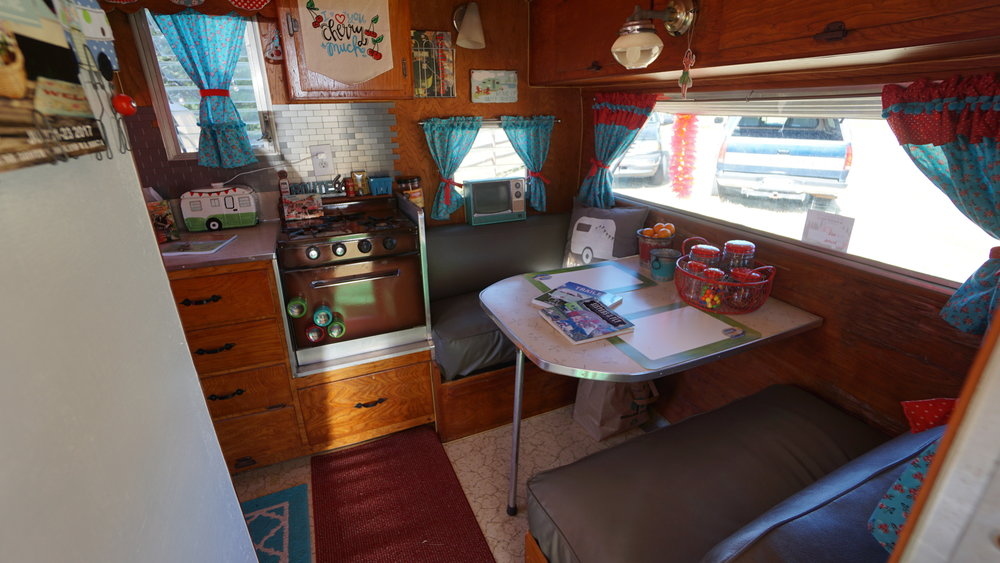 The inside of a trailer at last year's Ragtag Revival's Antique Show & Hootenanny in Woodland. Thirty retro campers are registered for this weekend's event, twice the amount from the inaugural run.Photo by Viki Eierdam
